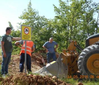 Izvršena sanacija divlje deponije Drage – Dobroša