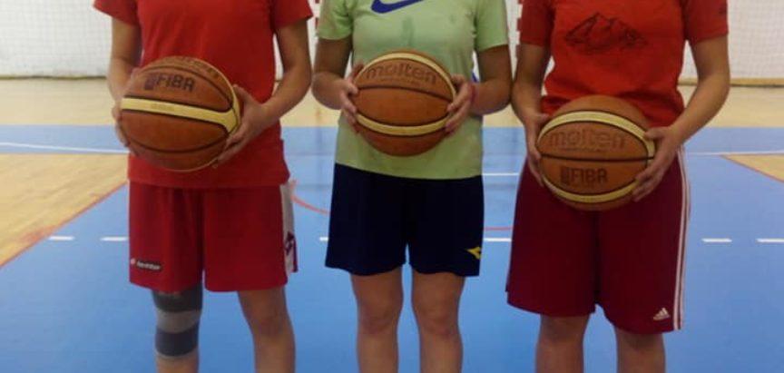Tri košarkašice iz Rame na kontrolnom treningu reprezentacije BiH