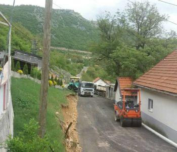 Foto: Završeno asfaltiranje na Gmićima