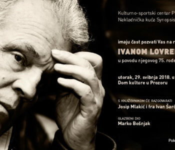 Razgovor s književnikom Ivanom Lovrenovićem