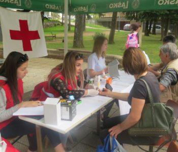 Tjedan Crvenog križa: Besplatno mjerenje krvnog tlaka i šećera u krvi