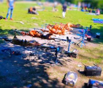 BOSANCI ŠOKIRALI BERLINSKU POLICIJU: Okrenuli 12 janjaca za 150 ljudi u gradskom parku