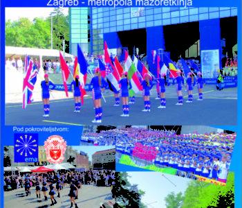 Ramske mažoretkinje će sudjelovati na Međunarodnom Zagreb Mažoret Festu