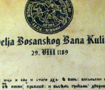 BiH pregovara s Rusijom oko Povelje Kulina bana, žele je privremeno izložiti