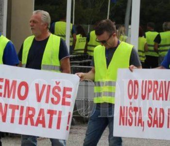 Radnici Zračne luke Mostar ponovno u štrajku