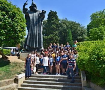 Foto: Gimnazijalci Srednje škole Prozor  na stručnom izletu u Splitu kao kod kuće