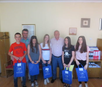 Načelnik Ivančević primio učenike generacije