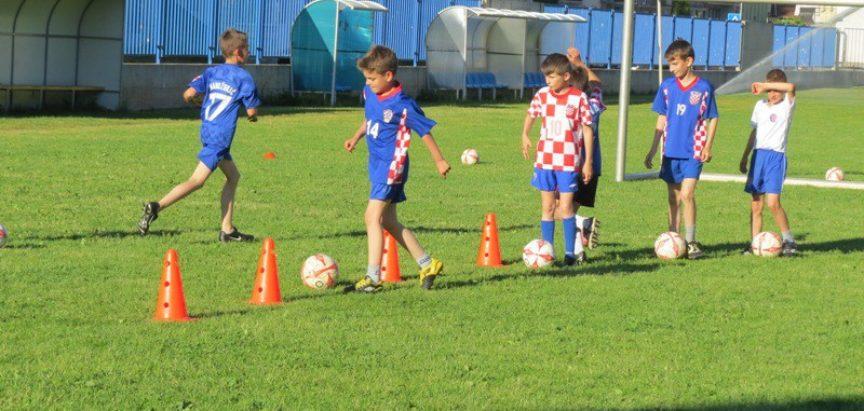 Škola nogometa u lipnju i srpnju