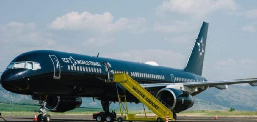 Leteći hotel sletio u Mostarsku zračnu luku