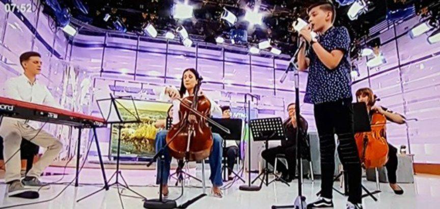 VIDEO: Ramski slavuj Marko Bošnjak nastupio u Dobro jutro Hrvatska
