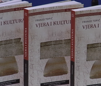 Razgovor o knjizi Vjera i kultura, autora prof. dr. Franje Topića