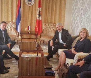 UNATOČ PRIJETNJAMA Čović i Dodik potvrdili su izbornu suradnju i raspodjelu srpskih i hrvatskih glasova