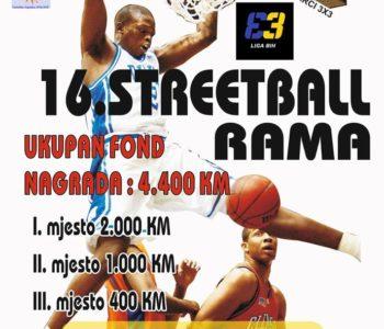 Idućeg tjedna se održava tradicionalni Streetball u Prozoru