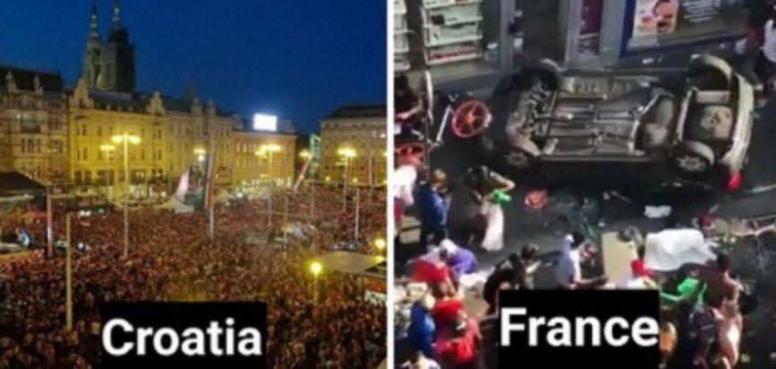 U Francuskoj neredi, pljačka, mrtvi… U Hrvatskoj jedan Francuz dobio šamar :)