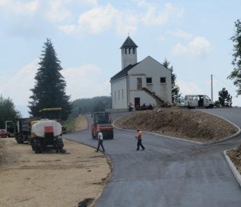 Na Kućanima uređen pristup crkvi i groblju