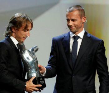 Luka Modrić najbolji igrač Europe!