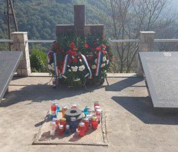 Foto: Na Hudutskom obilježena 25. obljetnica stradanja pripadnika Brigade Hrvoje Vukčić Hrvatinić Jajce