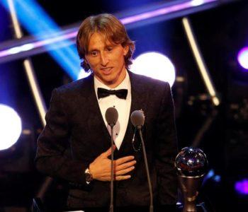 Najbolji od najboljih: Luka Modrić je najbolji nogometaš svijeta