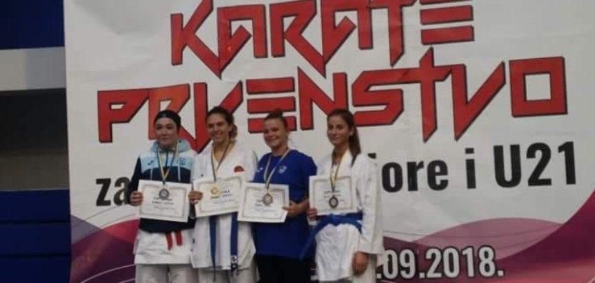 KK Empi: Monika Rajič treća na Federalnom prvenstvu