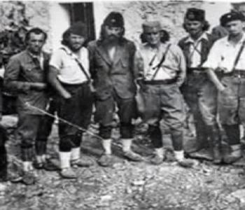 Drugi svjetski rat: Četnici iz konjičkog centra