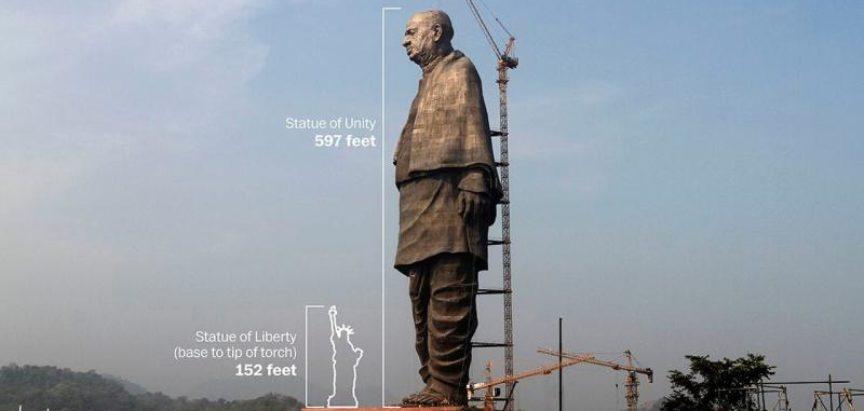 U Indiji otkrivena najviša statua na svijetu