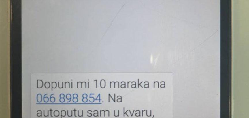 Ako dobijete ovu poruku, ne nasjedajte na nju!
