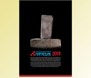 """Stećak, motiv """"Napretkovog kalendara"""" za 2019."""