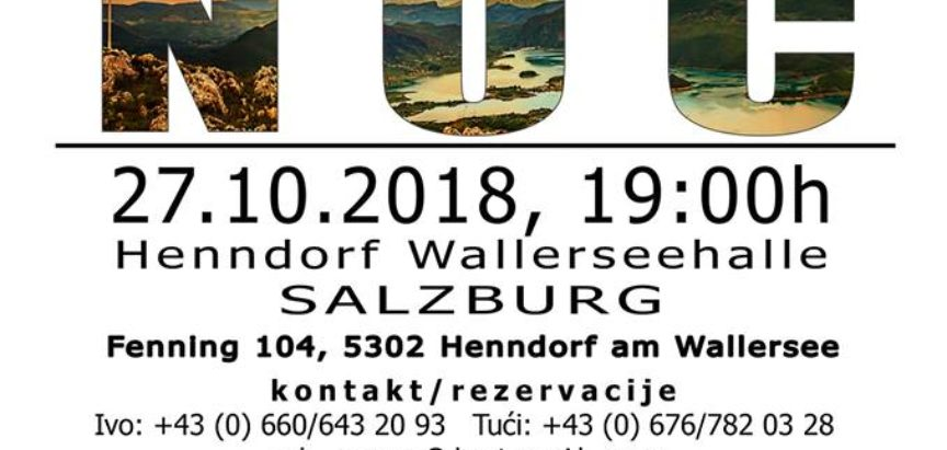 Humanitarna Ramska noć u Salzburgu 2018.