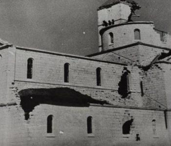Englesko bombardiranje samostana i bazilike u Tomislavgradu