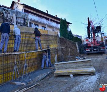 Foto: Uređenje Sinjske ulice u Prozoru