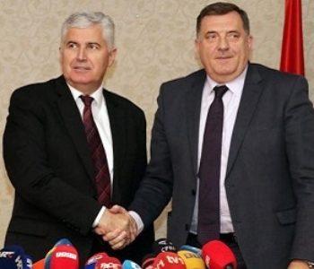 HDZ BiH i SNSD i službeno partneri i pozivaju Bošnjake