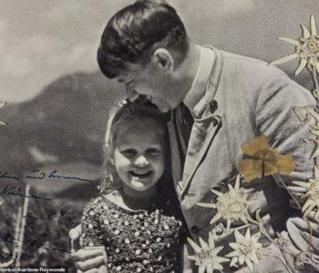 Na prodaji fotografija Hitlera kako grli djevojčicu židovskog porijekla