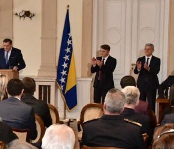 BiH ima novo Predsjedništvo: Dodik, Komšić i Džaferović; Čović nije došao na inauguraciju