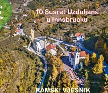 Obavijest za odlazak u Innsbruck na 10. susret Uzdoljana