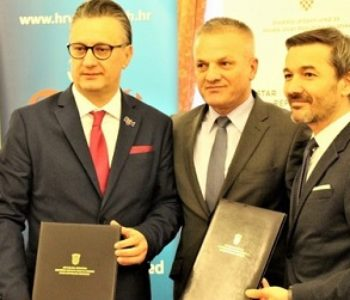 Sveučilištu i HNK 6 milijunčića od Hrvatske, no trojka na fotografiji ipak nije raspoložena