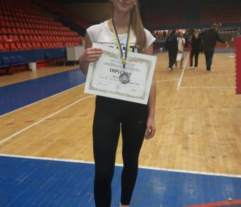 Monika Rajić nastupa na Balkanskom prvenstvu