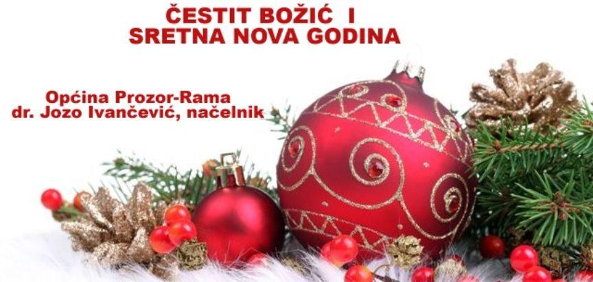 Božićna i novogodišnja čestitka načelnika općine Prozor-Rama