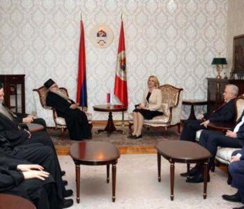 Na prijem kod Željke Cvijanović nisu došli predstavnici Katoličke crkve i Islamske zajednice