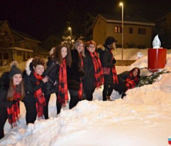 """FOTO/VIDEO: Članice VS """"Arabella"""" upalile treću adventsku svijeću"""