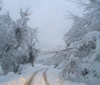 Foto: Snijeg odsjekao Kostajnicu u Neretvici