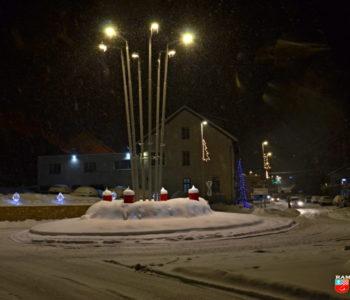 Zimska čarolija i hladnoća u Prozoru