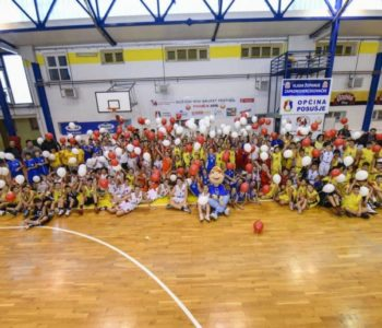 Božićni Mini festival košarke u Posušju