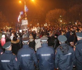 Banja Luka u kaosu, uhićuju se prosvjednici, otkazan koncert
