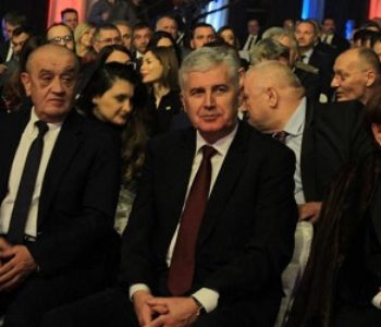 Čović, Bevanda i Čordaš na svečanoj akademiji povodom Dana RS-a