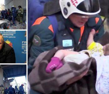 Iz ruševina zgrade spasili bebu, dosad su pronašli osam tijela