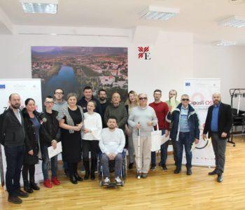 Obuka o izradi poslovnog plana za osobe  s invaliditetom
