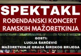 NAJAVA: Rođendanski koncert ramskih mažoretkinja