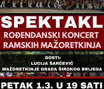 Rođendanski koncert ramskih mažoretkinja