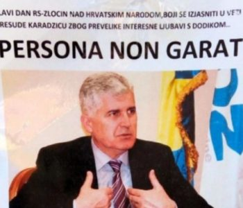 U Livnu osvanuli plakati: Dragan Čović – Persona non grata