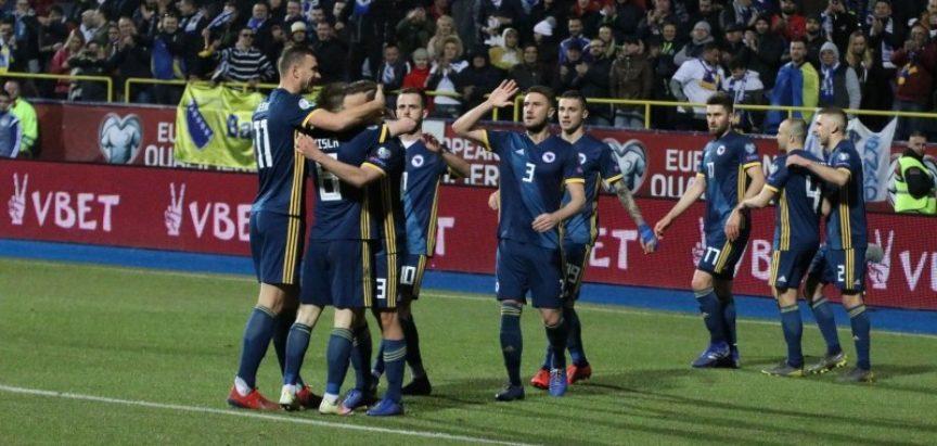 Golovima Krunića i Miloševića BiH pobijedila Armeniju